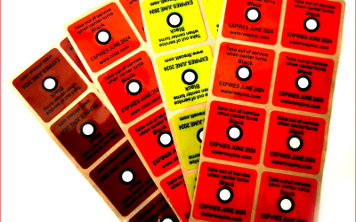 How to use temperature label stickerand how to choose it?