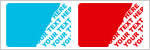 Tamper Evident Security VOID Stickers