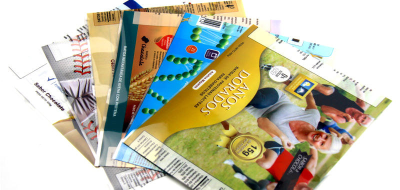 Packaging companies' application of heat shrinkable film labels
