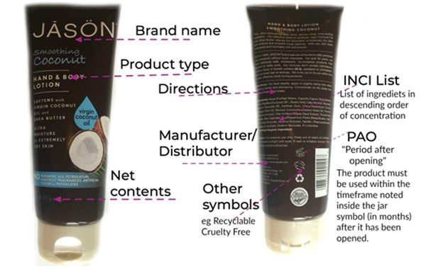 How to Read a Cosmetics Label?