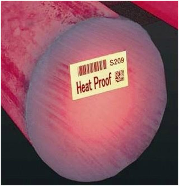 high temperature labels
