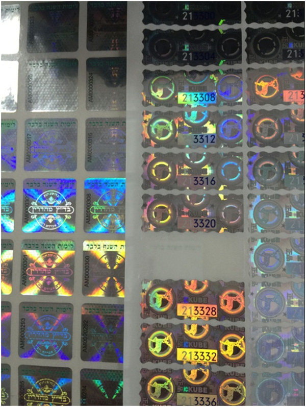 hologram labels